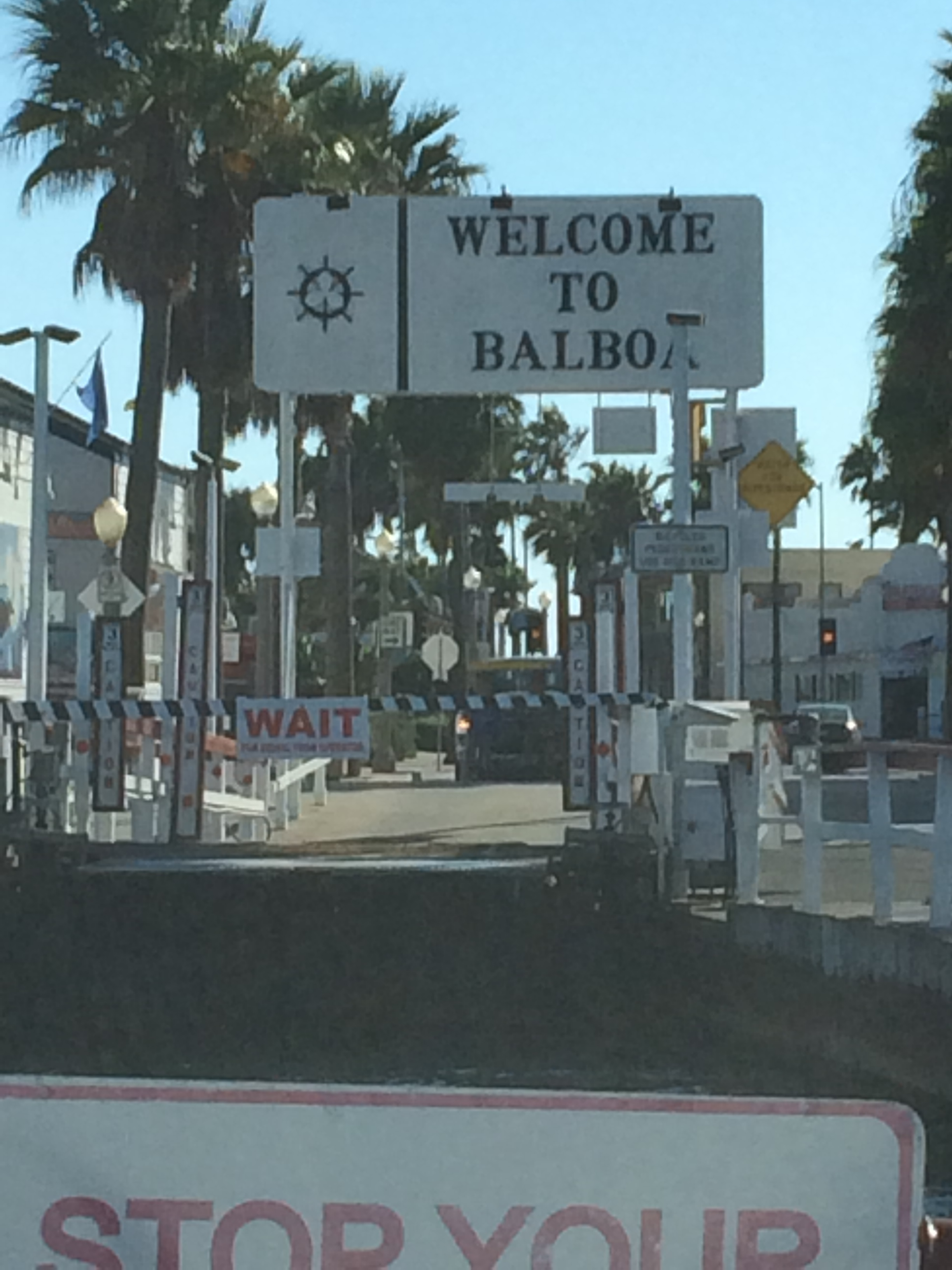 Taking a ride on the historic Balboa Ferry